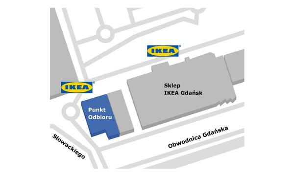 Punkt odbioru w sklepie IKEA Gdańsk