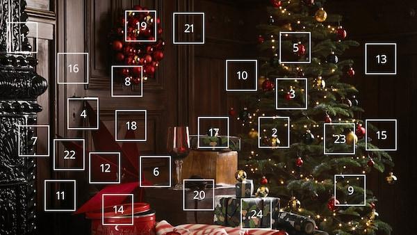 #myIKEAmagicalmoments advent calendar