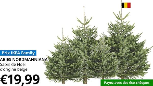 Achetez un sapin de Noël et recevez 15€   IKEA
