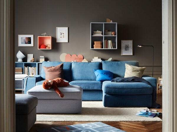 A Living Room For Big And Small Ikea Singapore Ikea