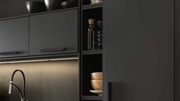 Cuisines Metod Finition Kungsbacka Noir Ikea