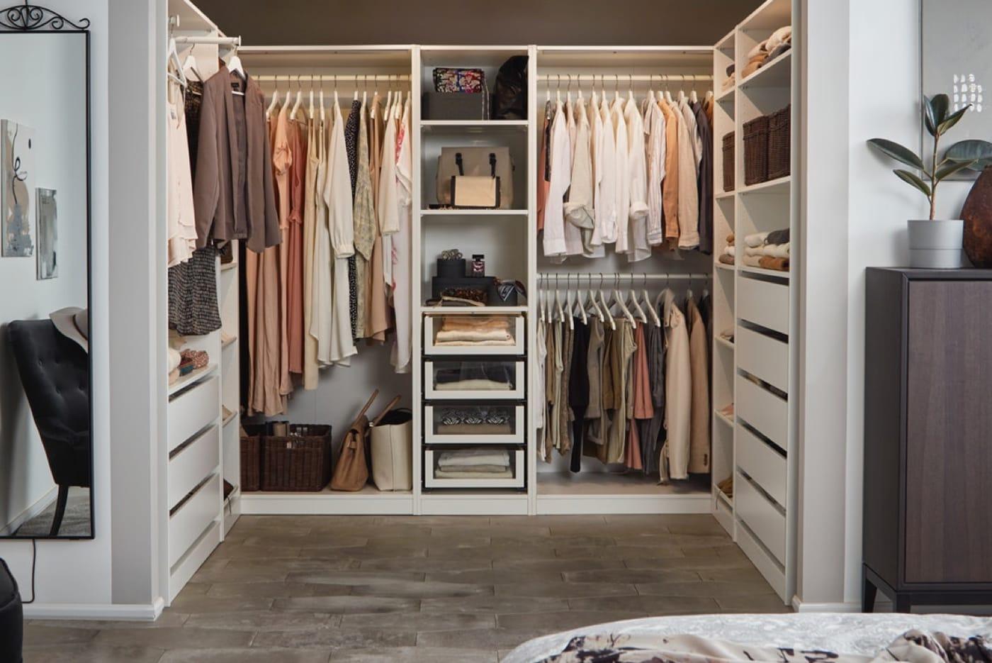 Vier Kleiderschranksysteme Im Vergleich Ikea Deutschland