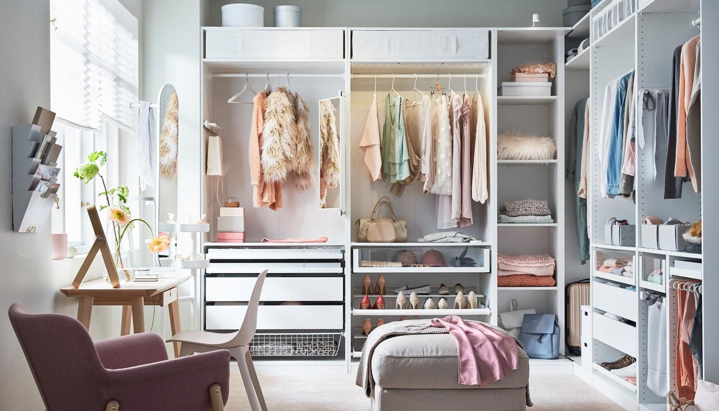 como busvar mi armario planificado en ikea