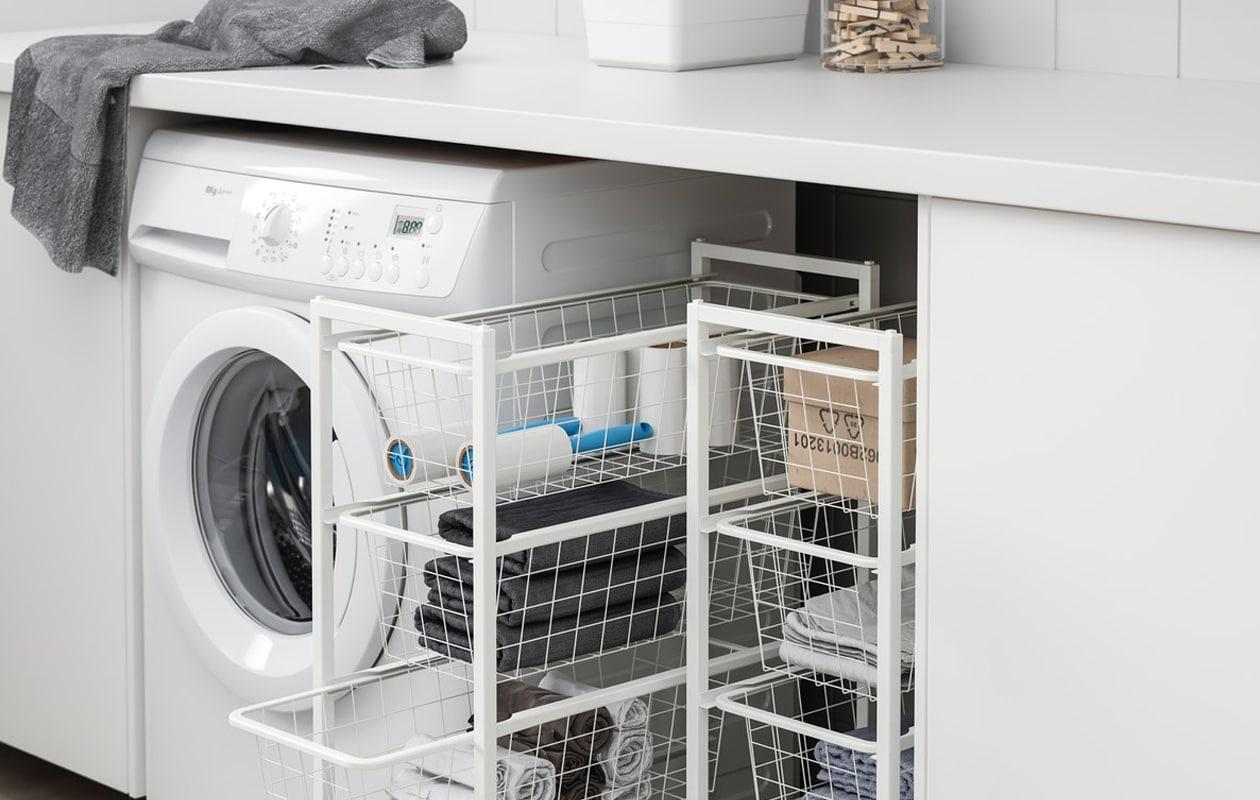 IKEA JONAXEL systeem wasruimte