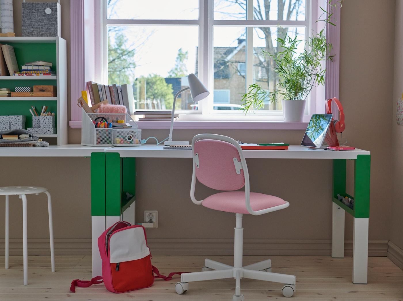 catalogo ikea mesas de estudio y sillas