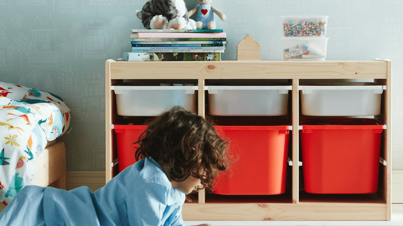 IKEA TROFAST for your children's storage needs