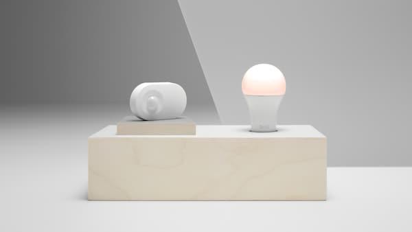 TRÅDFRI smart belysning LED-ljuskälla med rörelsesensor.