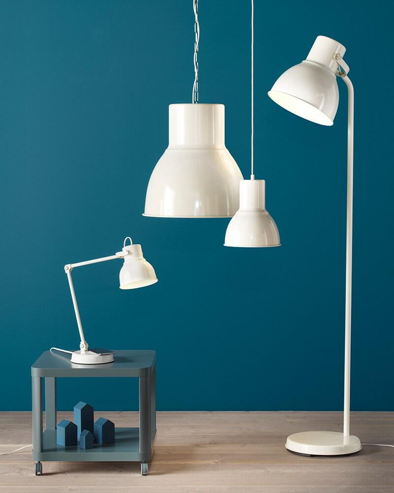 lampy do sypialni dające dużo światła ikea
