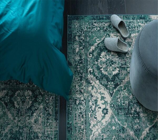 Ковры и напольные покрытия ковер зеленый 2