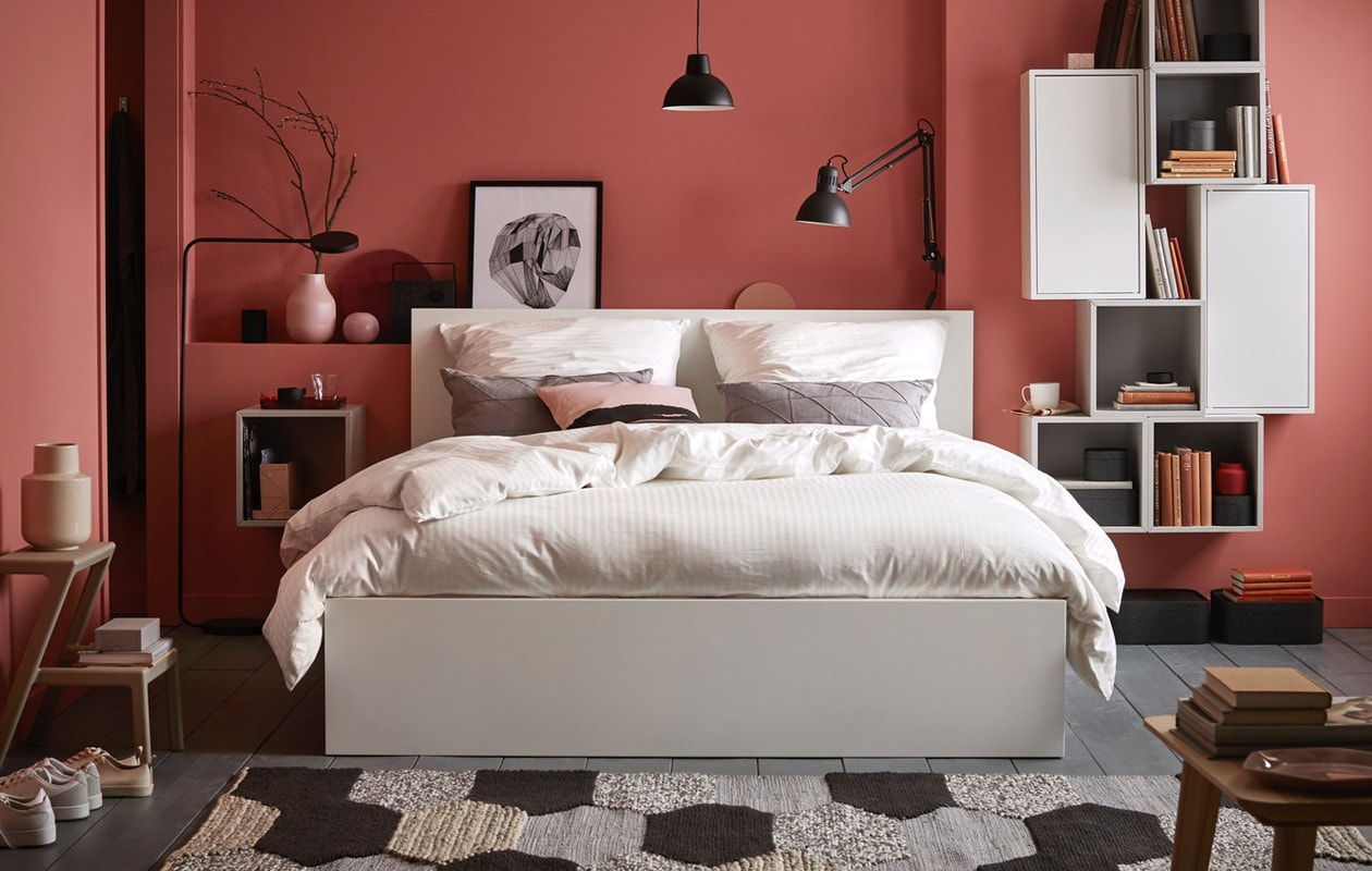 IKEA MALM bed bedroom