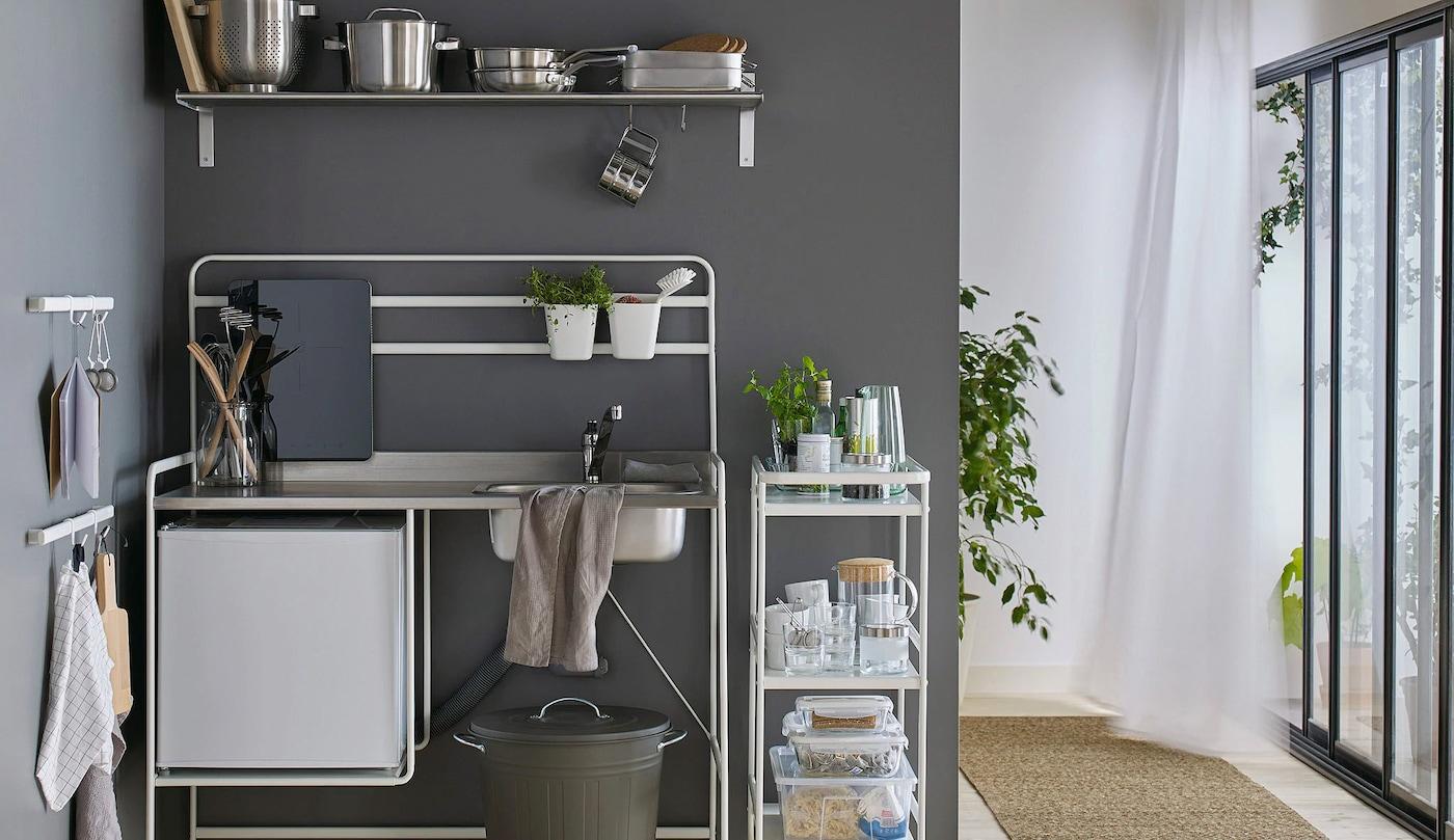 Galley Kitchen Inspiration Small Kitchen Ideas Ikea