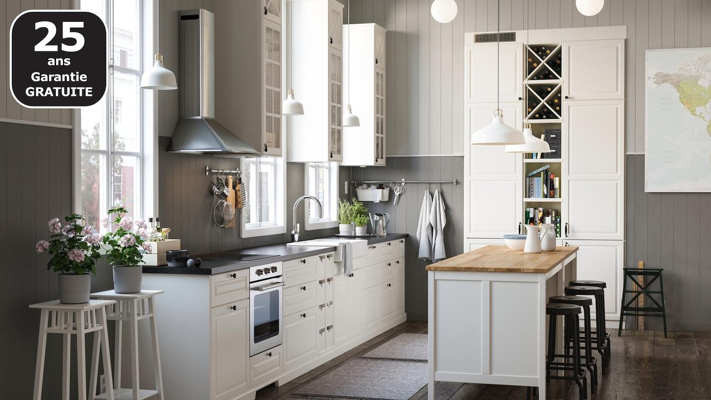 Cuisine champêtre en ville - IKEA