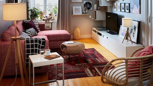 Meuble Salon - Décoration Salon et Séjour - IKEA