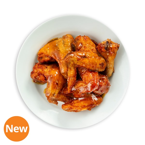 6pcs Chicken Wings with Honey Garlic