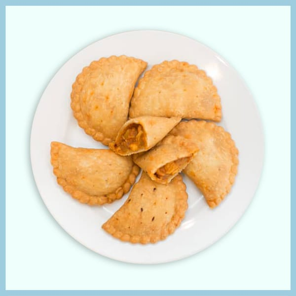 6pcs Curry Puffs