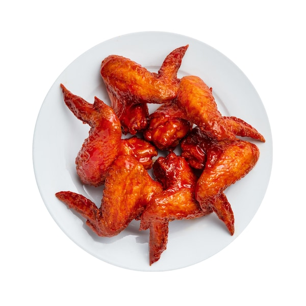 6pcs Fried Chicken Wings with Siracha Sauce