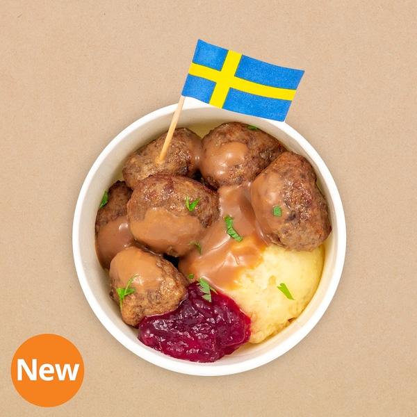6pcs Swedish meatballs