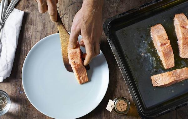 Salmone re del buffet - ricetta IKEA