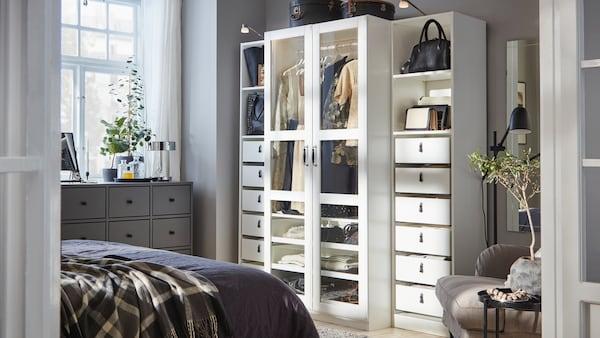 IKEA PAX wardrobe and storage