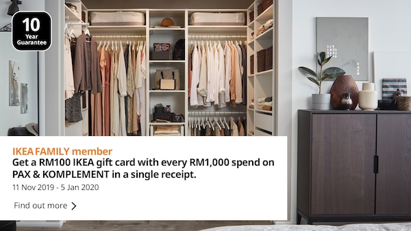 Declutter your home for a fresh start with IKEA storage solutions