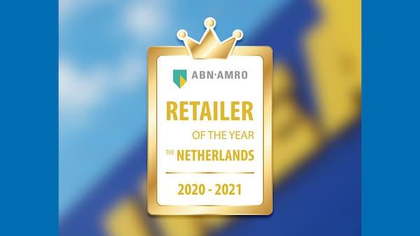Logo retailer van het jaar