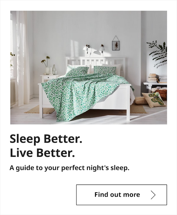 Sleep Better. Live Better. A guide to your perfect night's sleep