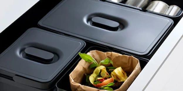 contenedores para reciclar en el hogar ikea