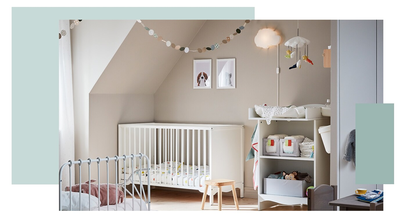 The Cutest Baby Room Ideas - IKEA