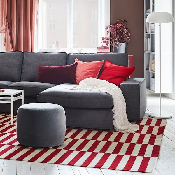 How To Choose The Rug Size Ikea