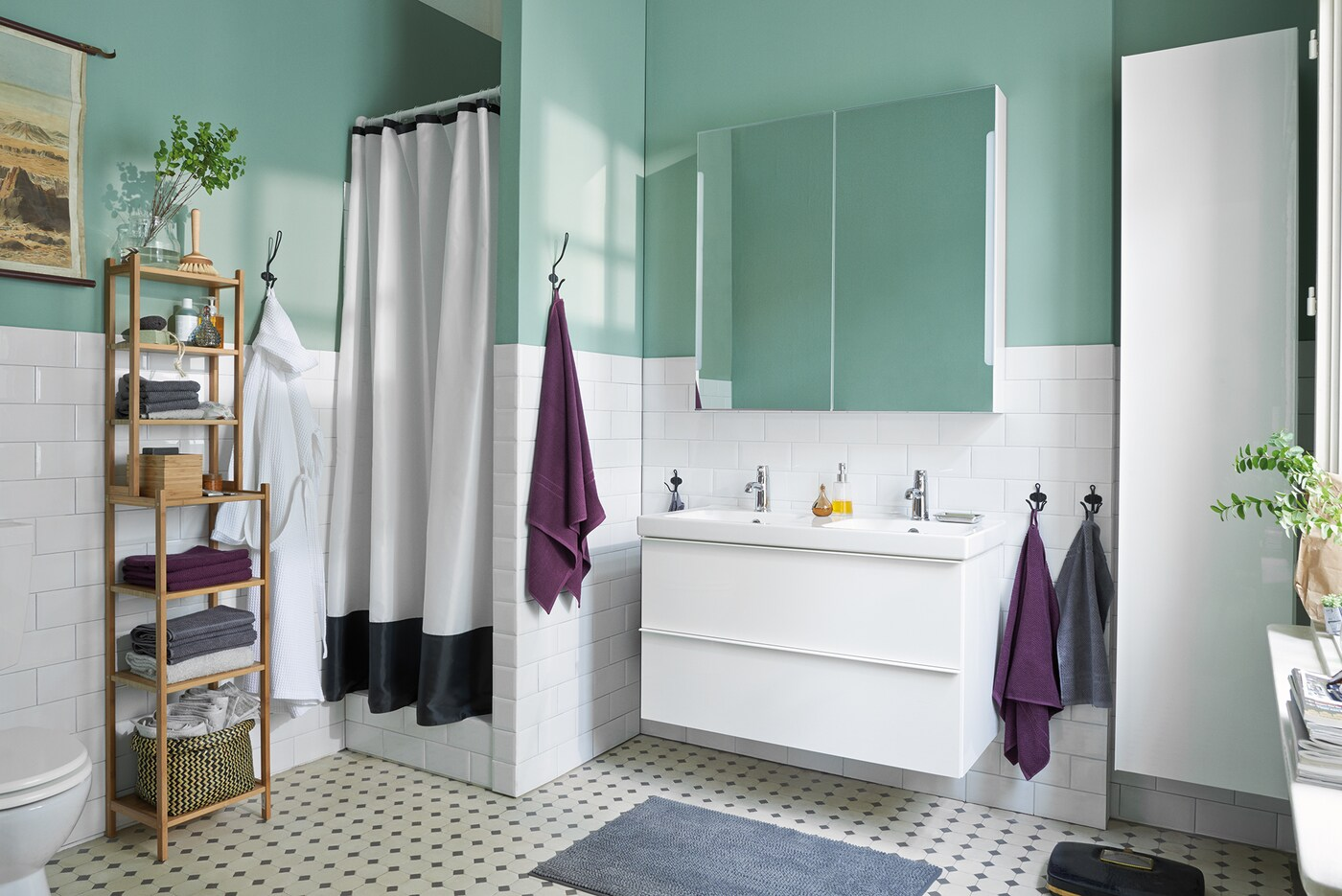 Aufbewahrung & Ordnung im Badezimmer - IKEA Deutschland