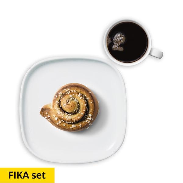 เซ็ตขนมและกาแฟ