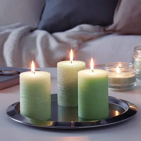 Свечи для создания уютной атмосферы в спальне
