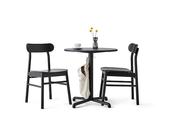 Café furniture.