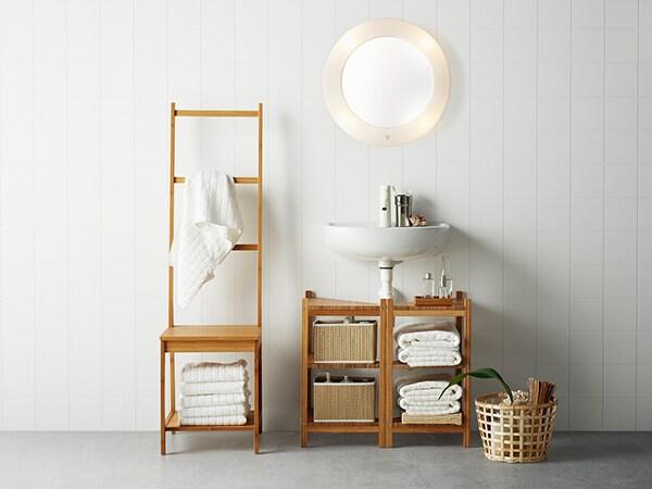 Komfortowa łazienka Z Nutą Nowoczesnego Stylu Ikea