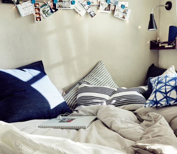 Tinejdžerska spavaća soba za učenje i ples