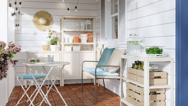 Your outdoor dining room during the summer