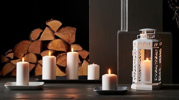 Seasonal savings on selected candles. FENOMEN candles set