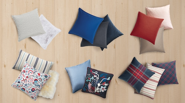 Up to 20% off* cushion covers