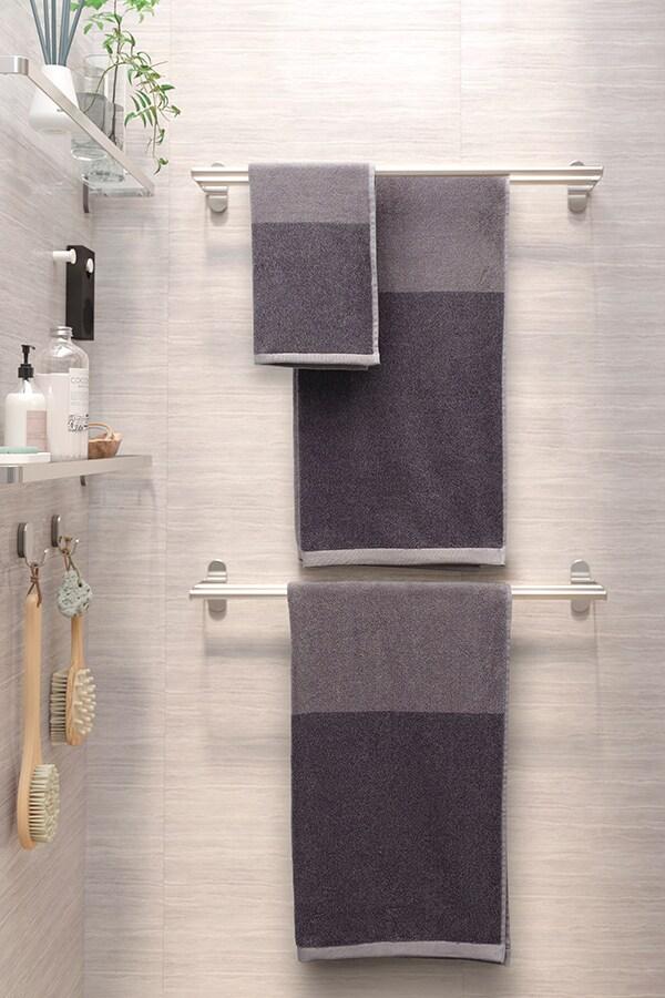BROGRUND Drążek na ręcznik, stal nierdz, 67 cm