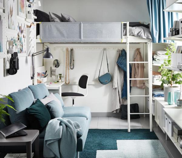 Mali dom u kojem su vertikalna rješenja za odlaganje zaista važna