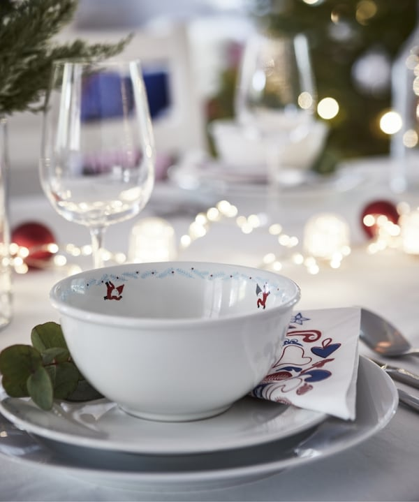 mesa Navidad IKEA