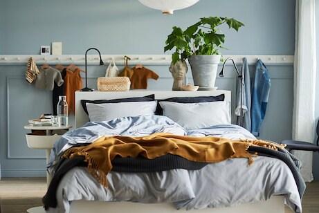 Projektowanie sypialni i garderoby