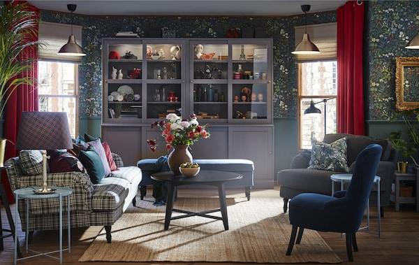 Wohnzimmer für Gäste dekorieren: Inspirationen - IKEA ...
