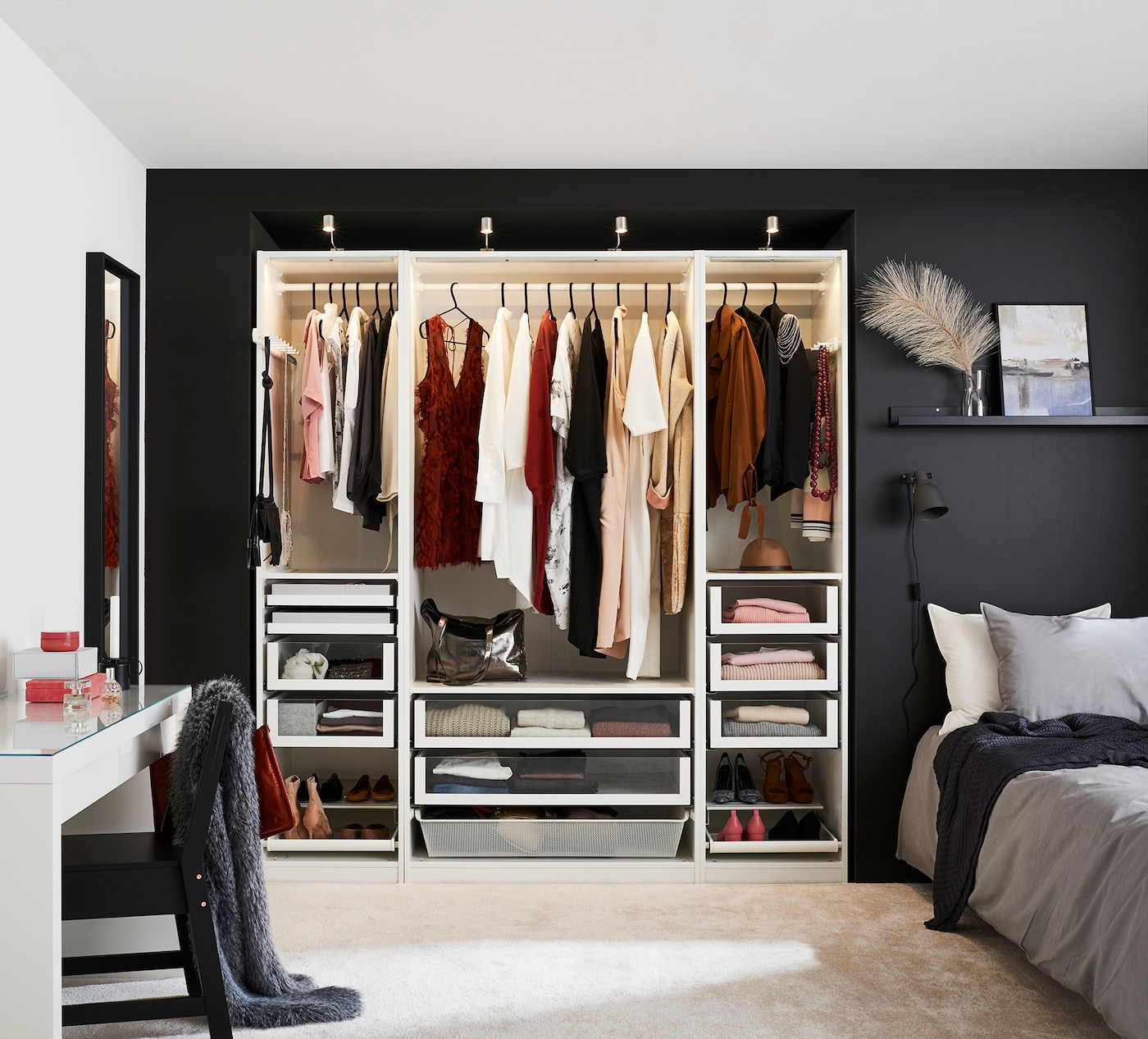 Schrankbeleuchtung für deinen Kleiderschrank   IKEA