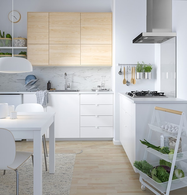 Cucina componibile VEDDINGE bianco opaco - IKEA