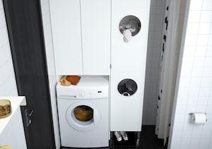 Waschmaschinenschrank