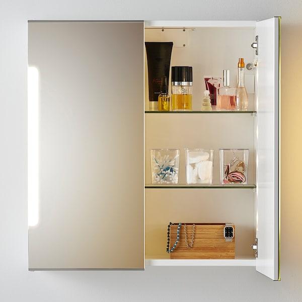 зеркальный шкаф с подсветкой