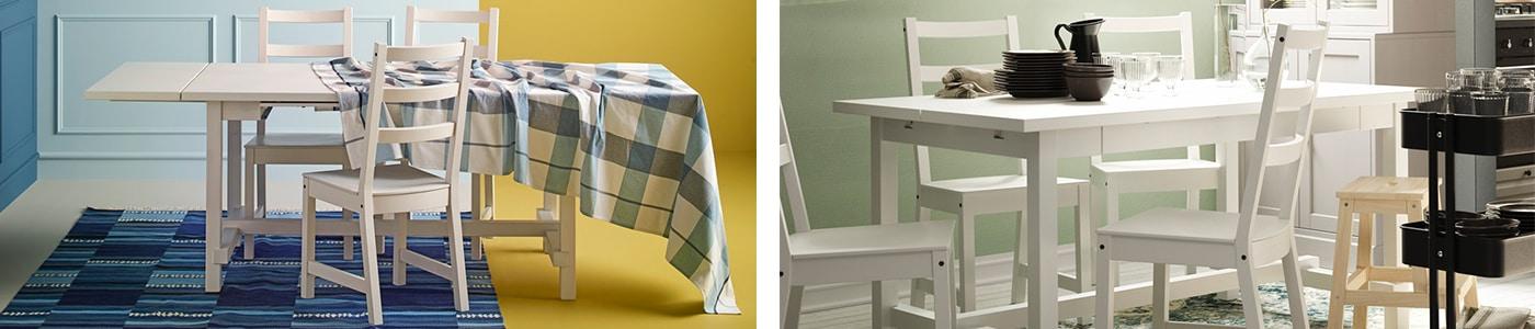 Table Extensible Salle A Manger Table A Rabats Ikea