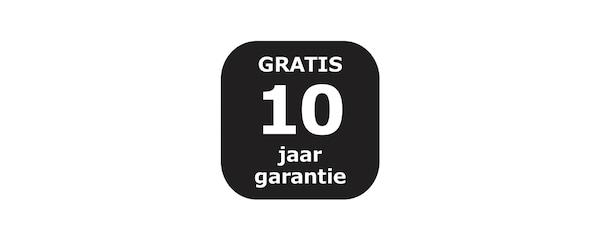 Gratis 10 jaar garantie