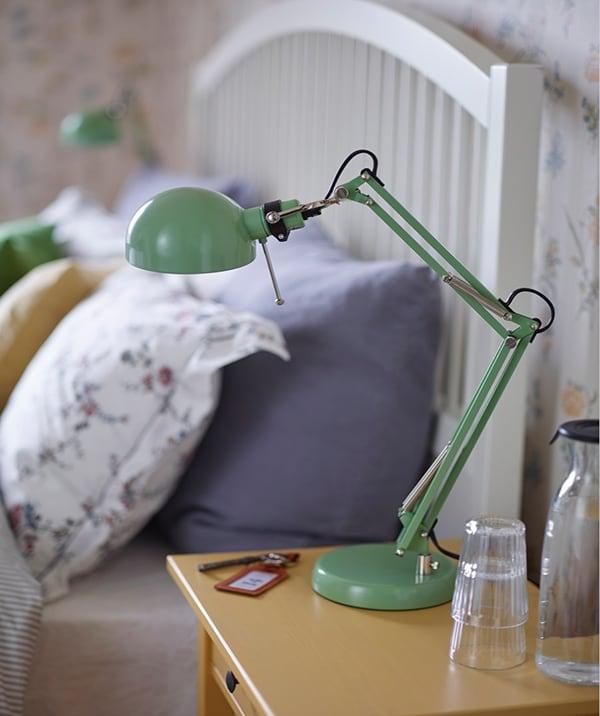 Освещение лампа рабочая зеленая